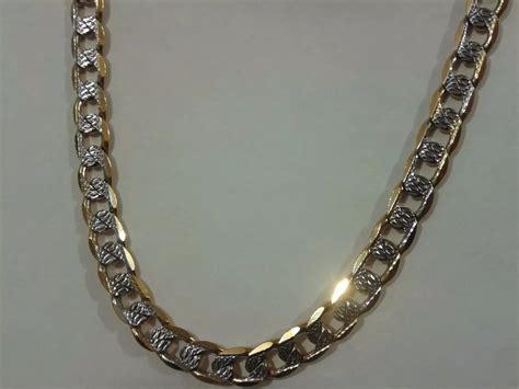 cadenas de oro precios mexico cadena collar oro laminado 18k diamantada 60cm 790 00