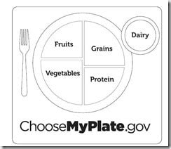 Nutrition Lesson Wolf Den Healthy Ideas For Kids Food Plate Template