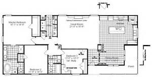 floor plans oklahoma the yukon 2040 sq ft manufactured home floor plans in