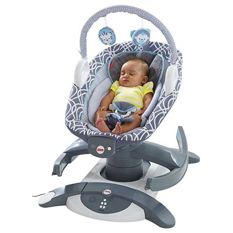fisher price i glide cradle n swing 4 in 1 rock n glide soother