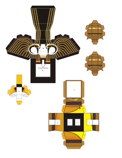 Papercraft Corporation - papercraft horus