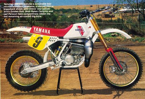 works motocross bikes yamaha factory works bikes 1971 2009 moto related