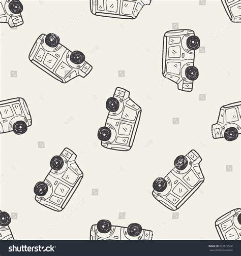 doodle car car doodle stock vector 272128568