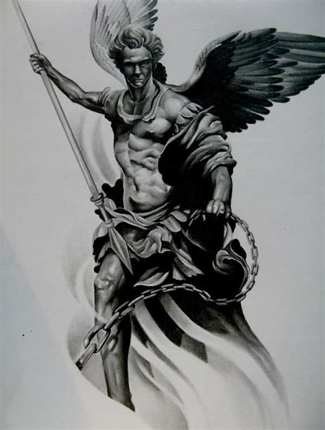 st michael archangel michael pinterest awesome image result for tattoo designs of st michael tattoo s