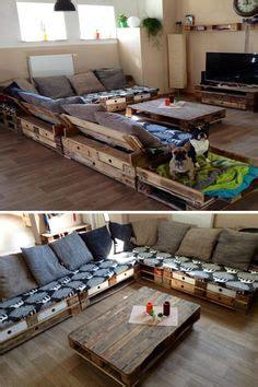 europaletten sofa 1000 images about wohnzimmerm 246 bel aus europaletten on