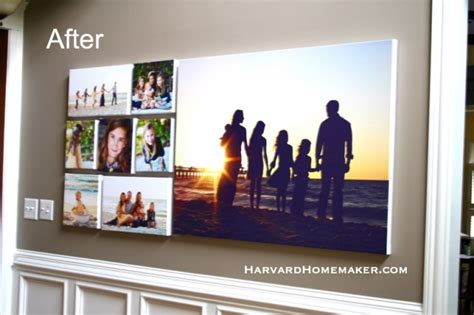 how to hang family photos on the wall decorate with family photos and hang a wall gallery with