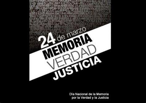 imagenes de justicia y verdad acto oficial por el d 237 a nacional de la memoria por la