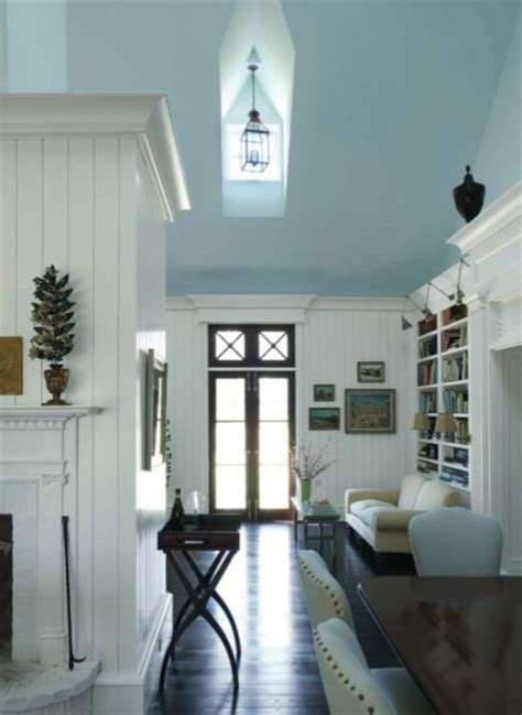 Blue Bathroom Ceiling by Coastal Living Blue Ceiling Decorating Ideas Painted Ceilings Be Cool And