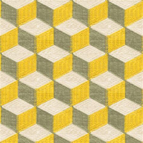 yellow geometric pattern fabric color blocks yellow grey geometric fabric dering hall