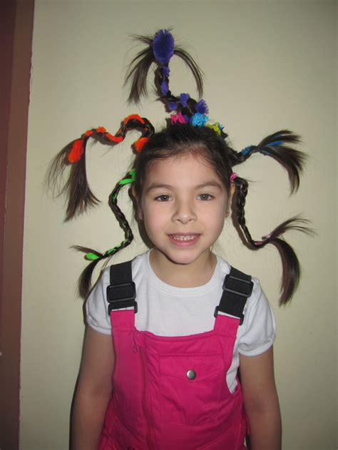 hairstyles for school bad hair day crazy hair day school friday 15th march 2013 inspire