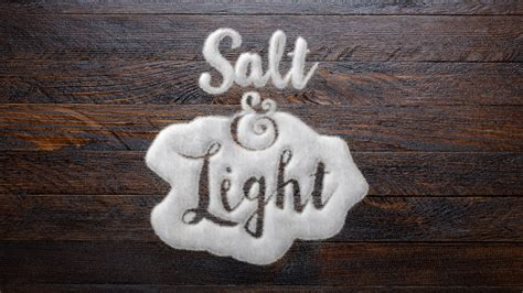 Salt And Light by Salt And Light Revandy Org