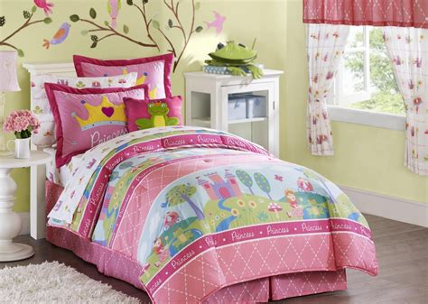 Horse Comforter Twin Bedroom Interior Furniture Bedding Idea For Kids And