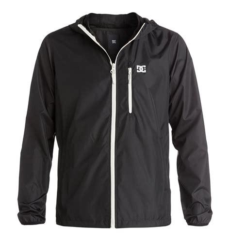 Jaket Dc Parka Black s dagup water repellent windbreaker jacket 888327004075 dc shoes
