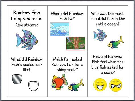 Let S Talk The Rainbow Fish Speech Stuff Pinterest