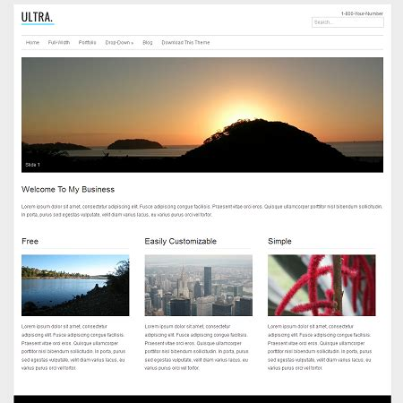 ultra th 232 me wordpress business beauxthemes