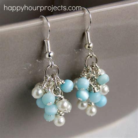 diy beaded earrings tutorial 20 diy earring projects my girlish whims