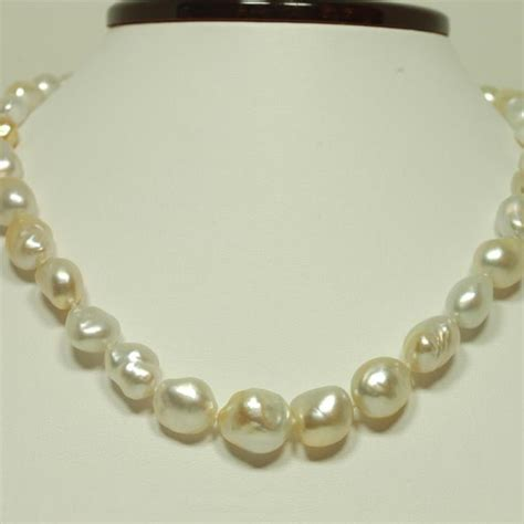 South Seas And Keshi Pearl Necklace Pearl Jewelry