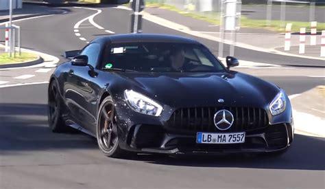amg mercedes black black mercedes amg gt r does nurburgring passes