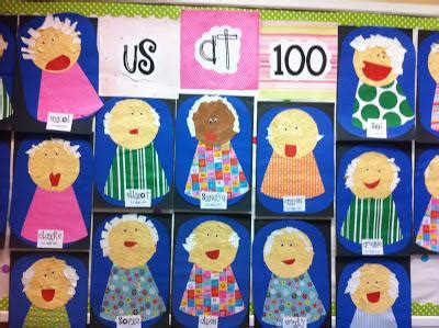 100th day of school crafts 100th day celebration craft a look to the future kid check school and kindergarten smorgasboard