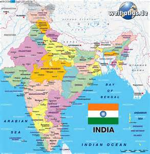 World Map And India by India World Map