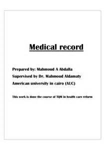 Certification Letter For Medical Records Medical Record
