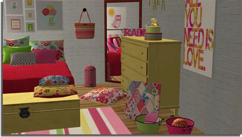 sims 2 bedroom sims 2 creations by tara girly bedroom