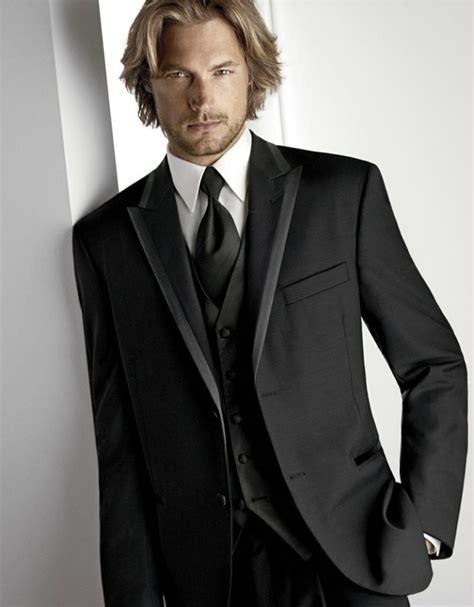 Mens Wedding Tux – 30 STYLISH TUXEDOS FOR THE GROOM      Godfather Style
