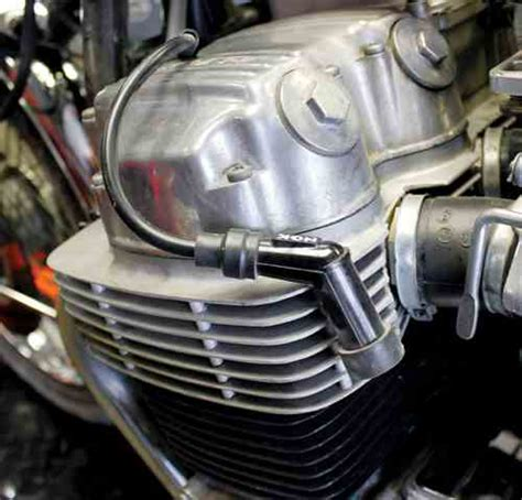 motorcycle ignition resistor replace ignition coils on any seventies honda four mc how to motorcycle classics