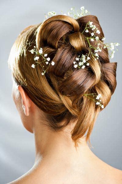 Einfache Frisuren Für Hochzeit by Hochsteckfrisuren F 252 R Hochzeit Frisuren Mittellang