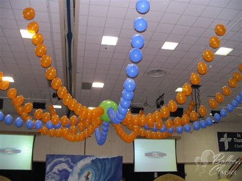 How To Make Ceiling Decorations by Ceiling Balloons Balloon Decorations Arches Columns