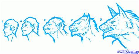step 10 how to draw a werewolf transformation werewolf how to draw a werewolf transformation werewolf
