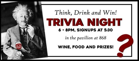 pour house trivia it s trivia welcome to 868 estate vineyards