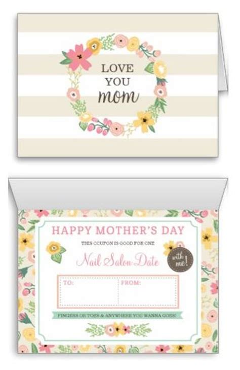printable greeting cards custom 11 best images about mother s day on pinterest mini