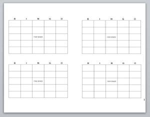 photoshop bingo card template blank bingo cards bingo cards printable 187 template