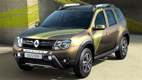 renault duster sandstorm edition launched  india  rs