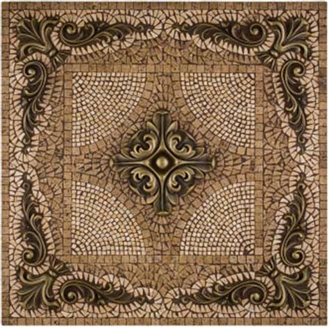 metal mural grand mosaic tile backsplash by