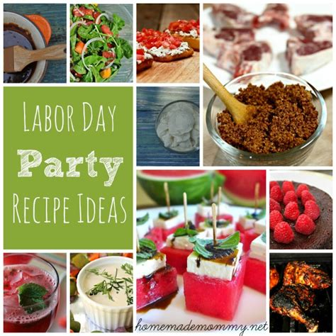 summer labor day party recipe ideas homemade mommy