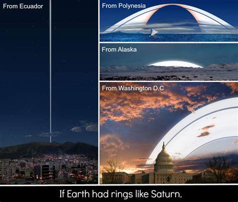if earth had rings like saturn koshersamurai