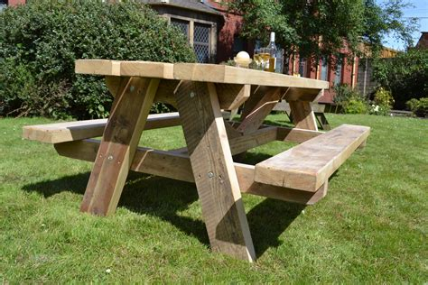 garden picnic benches picnic bench glasgow wood recycling