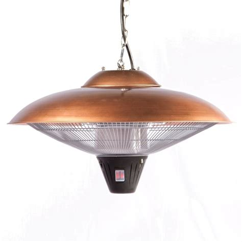 Mojave Sun Patio Heater Sense 60660 Copper Mojave Sun Hanging Copper Finish Halogen Patio Heater Ventingdirect