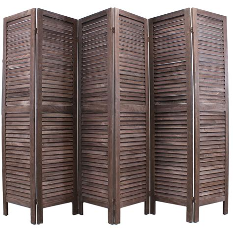 slatted room divider sale wooden slat room divider wide shabby chic vintage