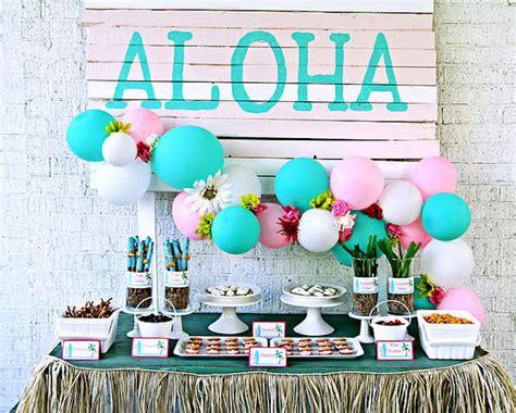 hawaiian christmas party ideas kara s ideas hawaiian luau birthday kara s ideas