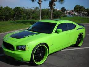 lime green dodge charger lime green charger with black