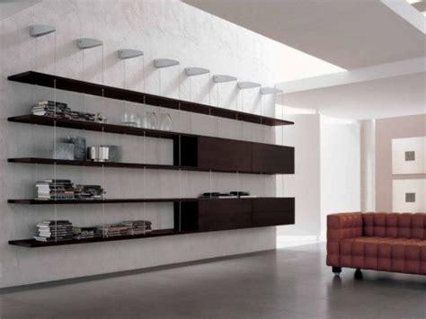 imagenes libreros minimalistas librero para las modernas salas de estar interiores