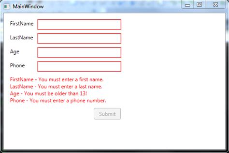 validation pattern number only how to disable a button on textbox validationerrors in wpf