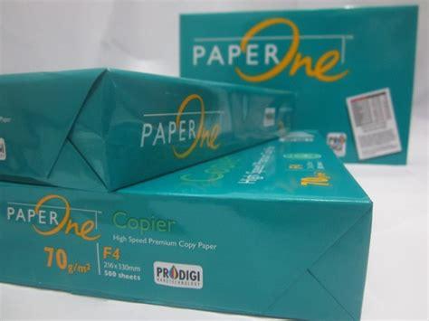 Kertas Paper One A4 80gsm Po jual alat tulis kantor murah surabaya 187 paper one f4 70gsm