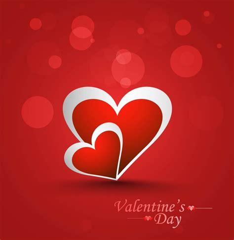 beautiful stylish valentines day card design free