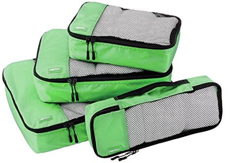 Amazonbasics Four by Amazonbasics 4 Packing Cube Set Small Medium Large Freebieorbust Freebies