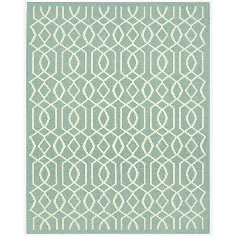 fretwork rug garland rug fretwork silver ivory 8 ft x 10 ft area rug ll380a096120d1 the home depot
