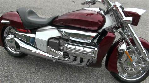Honda V6 Motorrad by 2005 Honda Valkyrie Rune Motorcycle Test Drive